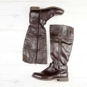 Brown Riding Boots CROFT & BARROW Women's Tall